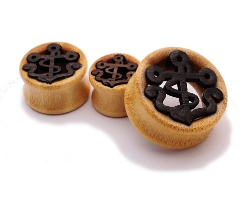 Bamboo Tunnels with Wood Anchor Inlay