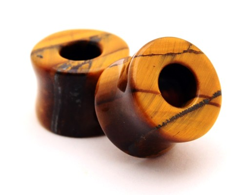 Tiger Eye Stone Tunnels